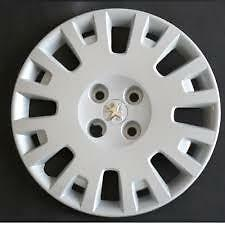 """Peugeot Bipper Style ONE 15"""" Wheel Trim Cover Chrome Centre Badge  PE 801 AT"""