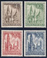 BERLIN 1953, MiNr. 106-109, 106-09, tadellos postfrisch, Mi. 25,-