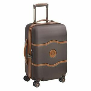 Delsey Chatelet Air 55cm Carry On Luggage - Chocolate