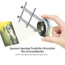 Spanner Wrench Repair Maintanance Tools for DSLR Camera Lens 10-100mm Silver SP
