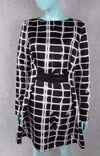 KENZO SIZE 38 OR UK 10 LONG SLEEVE DRESS AUTHENTIC MAINLINE