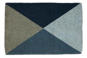 100% Coir Doormat, Welcome Mat. Entry Mat 45x75 cm & 60x90 cm   Blue Flag