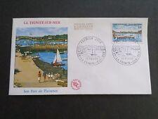 FRANCE 1969 FDC 1° JOUR, TRINITE' SUR MER, PORT, VF
