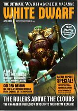 WARHAMMER WHITE DWARF MAGAZINE APRIL 2017 (GAMES WORKSHOP)