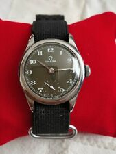 Vintage Omega Indian Military 2165-A 26.5T3 Hand Winding S. Steel Men's Watch