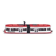 """Siku 1895 Tramway """"Bombardier"""" blanc/rouge échelle 1:87 Modèle réduit de voiture"""