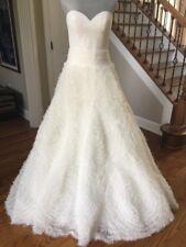 NWT Pronovias Moana Molly 2 Piece Wedding Dress Off White Tulle Strapless Sz 10
