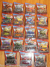 Disney PIXAR Cars 2 Dies Cast Cars - Set of NINETEEN VEHICLES - Ages 3 & up