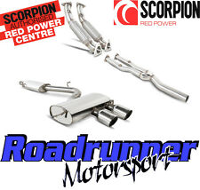 Scorpion Golf R32 MK5 Exhaust De-cats Inc Downpipes & Cat Back System Resonated