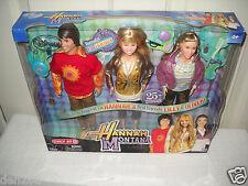 #3706 NRFB Disney Channel Jakks Pacific Target Store Hannah Montana 3 Doll Set