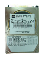 "Toshiba MK4025GAS (HDD2190) HDD Internal 4200 RPM 2.5"" PATA/IDE Hard Drive"