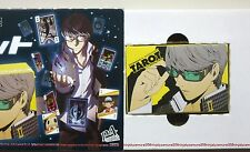 Persona 4 Arcana Tarot Card w/ pl​aying card trump promo official anime cosplay