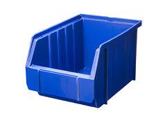 Sonderangebot 100 Stapelboxen BLAU Gr.3 Schraubenboxen 23x 15x 12,5 cm NEU 1A