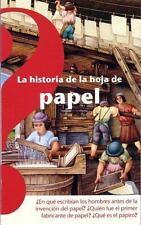 La historia de la hoja de papel (Spanish Edition) - New - Limousin, Odile - Pape
