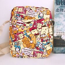 Pom Pom Purin mix cute shoulder bag Cycling bags money phone bag canvas new