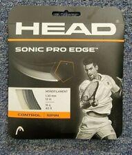 Head Sonic Pro Edge 16 Gauge 1.30mm Tennis String Anthracite