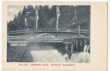 Sweden; Dalslands Canal, Hofverud Aqueduct PPC, Unposted, UB, c 1900-05