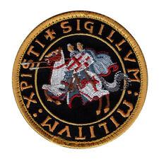 Knights Templar Crusaders Morale Hook Fastener Patch (TE1) BY MILTACUSA