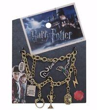 Harry Potter Horcrux Charm Bracelet Diadem Slythering Locket Hufflepuff Cup Ring