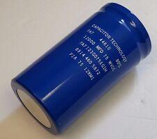 Capacitor Technology FA7123G075EG1H, 12000UF,  75WVDC