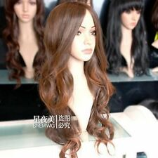 vogue long brown mix health hair wig  wigs for modern women