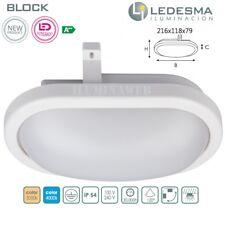 Aplique LED BLOCK 12w Luz Blanca 4000k 960 Lumen BAJO CONSUMO 230V exterior IP55