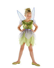 OFFICIAL DISNEY TINKER BELL CHILD HALLOWEEN COSTUME GIRL'S SIZE MEDIUM 7-8