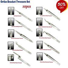 Set de 10 Ortodoncia Pinzas de Brackets