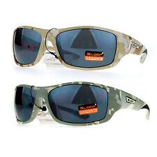 Xloop Army Digital Camouflage Warp Plastic Biker Style Sunglasses