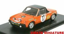 Voitures de courses miniatures oranges Spark