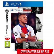 FIFA 21 EDYCJA MISTRZOWSKA SONY PS4 PL POLSKI KOMENTARZ DUBBING POLSKA POLISH