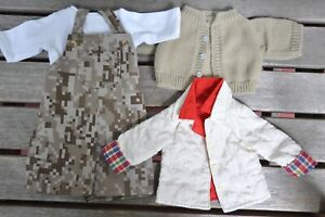 """Lot of Large Doll Clothes by Battat & Handmade-Fits 18"""" American Girl & OG Dolls"""