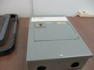 Square D QO Load Center QO6-12L100D 100A 120/240V Breakers: 1 50A 2P, 4 20A 1P