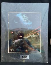Vtg Star Wars Chromart Special Collector's Edition Return Of The Jedi Print COA