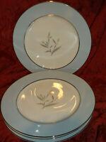 MIKASA RENATA FINE CHINA 8186 4 DINNER PLATES (12 AVAILABLE AT LISTING)