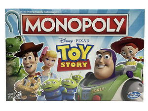 Monopoly Toy Story Board Game Family and Kids Ages 8+ Brand New Free Shipping