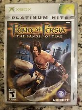 Prince of Persia Sands of Time Platinum Hits Microsoft Xbox Video Game Complete