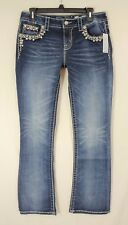 NWT MISS ME SIGNATURE BOOT LOW RISE STRETCH JEANS NEW SIZE 29