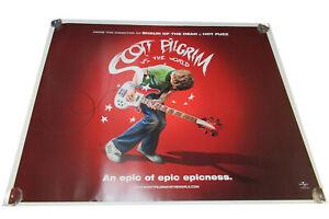 Scott Pilgrim vs the world movie UK quad poster ORIGINAL D/S Full Size EPIC!!!