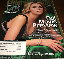 August 19, 2005 issue of Entertainment Weekly Reese Witherspoon #135