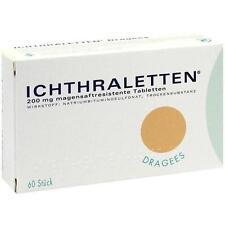 ICHTHRALETTEN magensaftresistente Tabletten 60St Tabletten magensaftresistent PZ