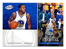 2017 PANINI ETERNAL ANDRE IGUODALA NBA FINALS LIMITED EDITION WARRIORS SP/150!