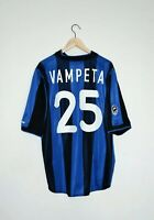 🔥2000/01 VAMPETA authentic shirt Inter jersey retro vintage maillot Brazil