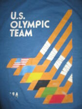 OLYMPIC TEAM USA HOCKEY STICKS (XL) T-Shirt SWEDEN SOVIET UNION CANADA FINLAND