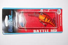 "bay rat lures battle md medium diving 2 1/2"" 1/2oz bass crankbait g'ville craw"