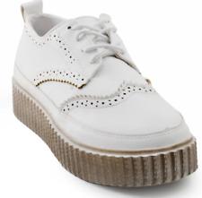 Tanggo Solenn Fashion Sneakers High Heels Women's Rubber Shoes (white/black)