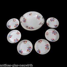 7 pezzi schalenset con floralen umdruck decoro, Thomas/Rosenthal