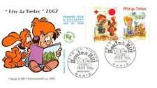 FDC JF - Fête du timbre, Boule et Bill (P3467A) - 16/3/2002 Paris