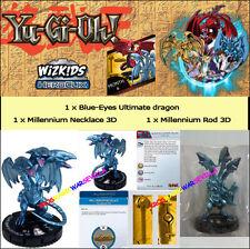 HEROCLIX YU-GI-OH! BATTLE OF THE MILLENNIUM OP KIT 6 SIX -Blue-Eyes U.Dragon+ROD