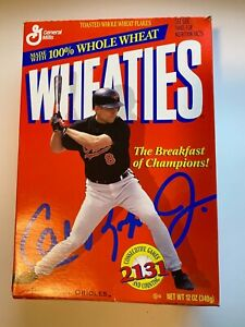 Vintage CAL RIPKEN JR 2131 Consecutive Games Wheaties Box FULL UNOPENED